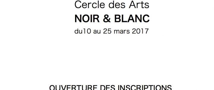 INSCRIPTIONS EXPOSITION NOIR & BLANC