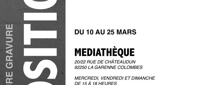 Exposition Noir et Blanc mars 2017